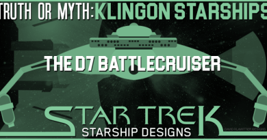 Truth OR Myth? Klingon Starships- The D7 Battlecruiser