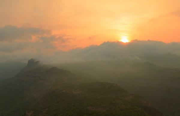 Sunrise at Rajmachi