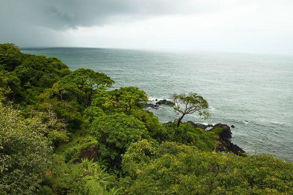 Ramparts overlooking the sea