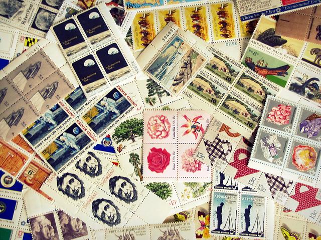 Stamps (Sarah Altendorf/flickr)
