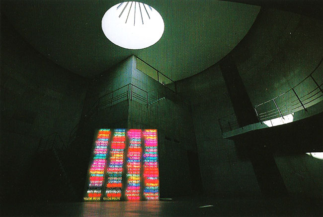 """""""100 Live and Die"""", by Bruce Nauman, 1984"""