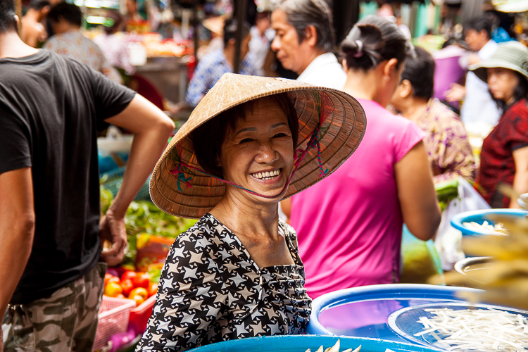 People are quite happy to flash a smile in the market