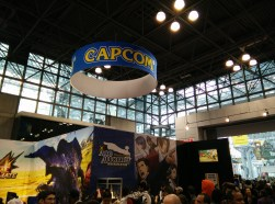 Capcom makes an appearance, showcasing Monster Hunter 4 and Phoenix Wright.