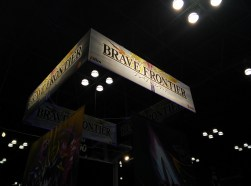 Indie mobile title Brave Frontier made an appearance at NYCC