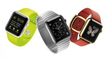 "The 3 ""tiers"" of Apple Watch. Sport, Standard, and Edition."