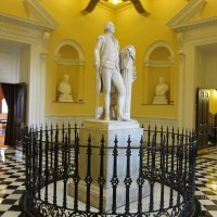 Virginia Capitol Washington Statue