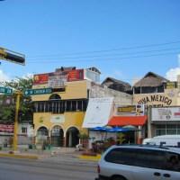 Cancun Busy Street
