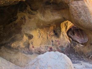 Petroglyphs in Joshua Tree