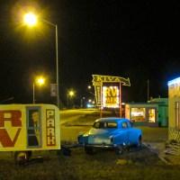 Kiva RV Park at Night