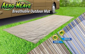 Presto Fit Aero Weave Outdoor Patio Mat