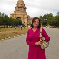 Kathy at the Capitol