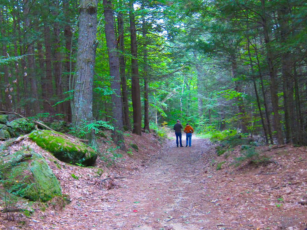 Hiking in New England