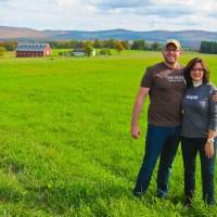 Rich & Kat in Vermonts NEK