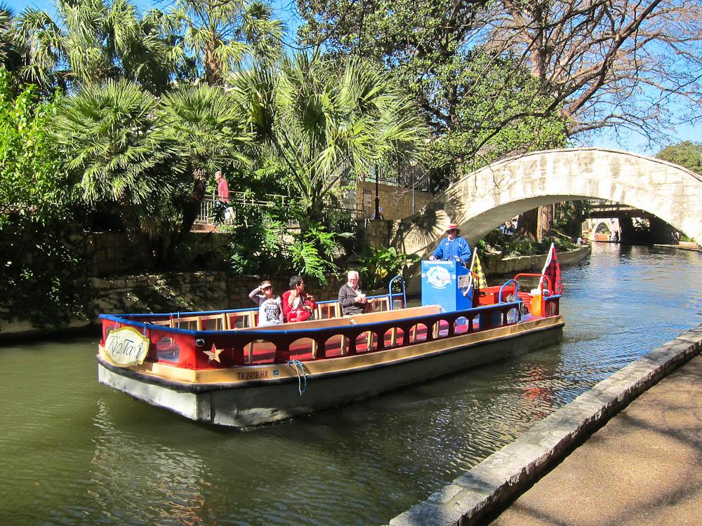 San Antonio Riverwalk Boats
