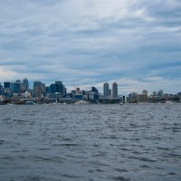 Seattle Skyline from Duck Boats