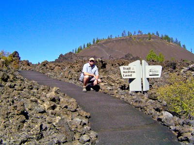 Rich at Newberry National Volcanic Monument