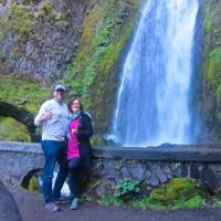 Rich & Kathy at Wakeena Falls