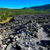 The Big Obsidian Lava Flow