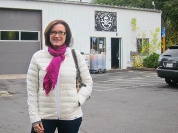 Kathy at Boneyard Beer