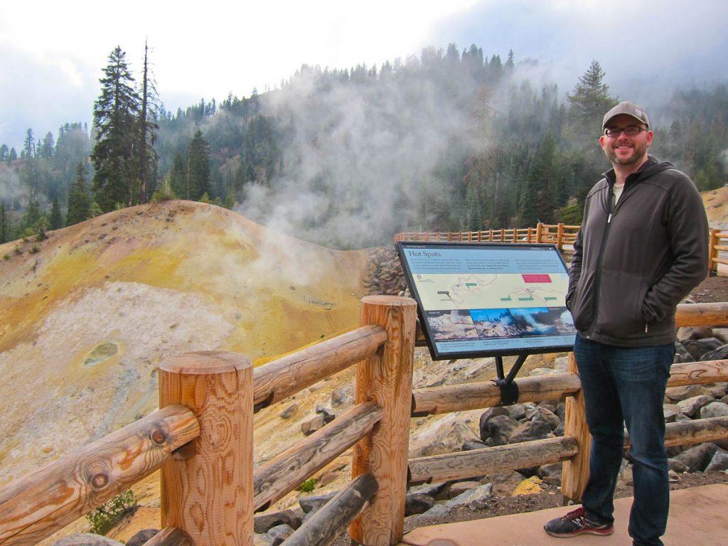 NP Series Lasssen Volcanic National Park Iron On Patch
