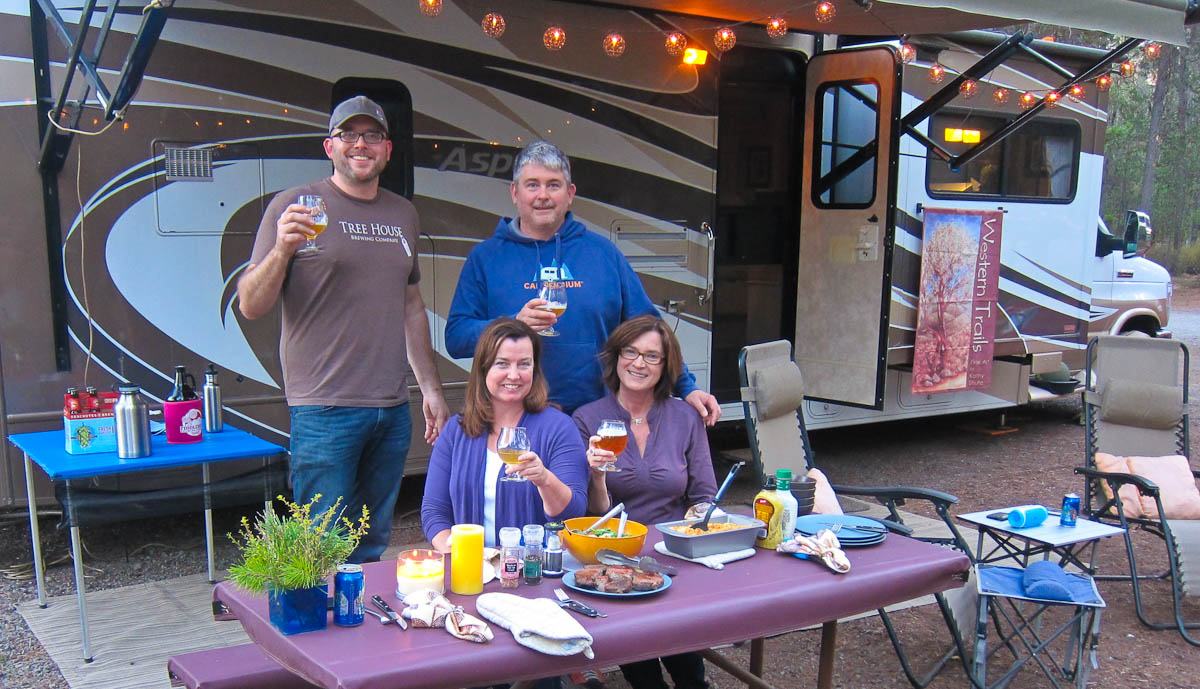We've met great people and great friends while RVing!