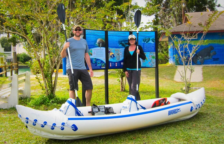 Sea Eagle Kayak near Crystal River
