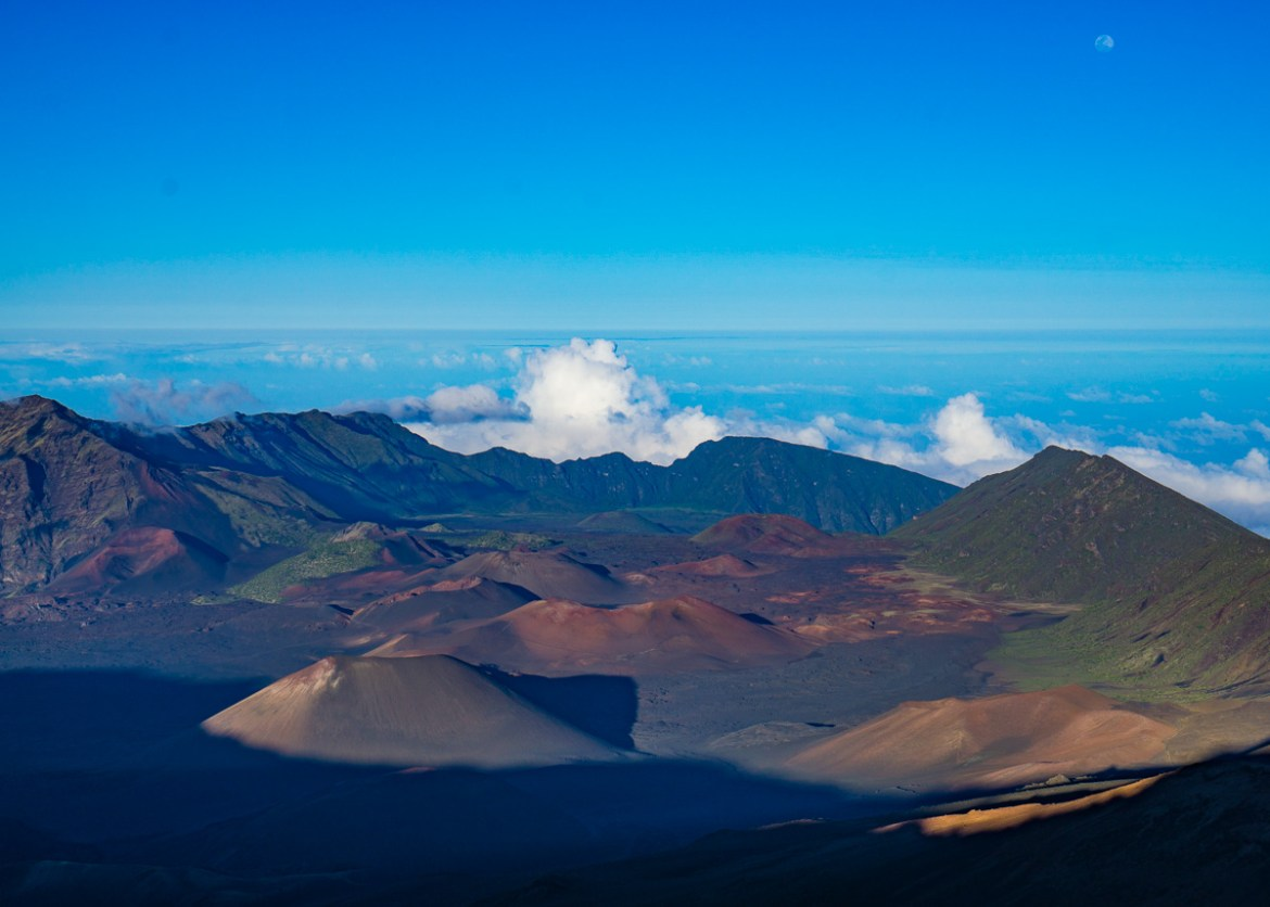 Haleakalā Overlook View From Above the Visitor Center