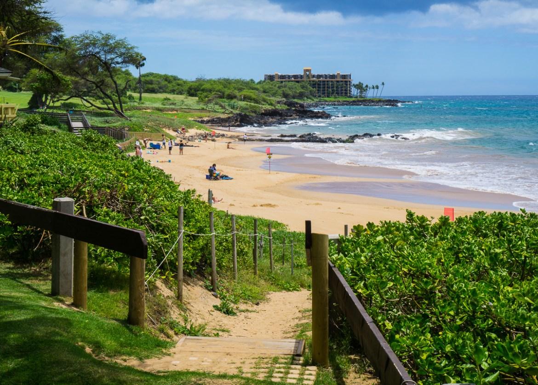 Public Beach on Maui