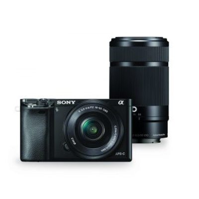Sony A6000 with zoom lens
