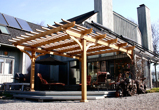 Louvered Patio Pergola No Ctp2 By Trellis Structures