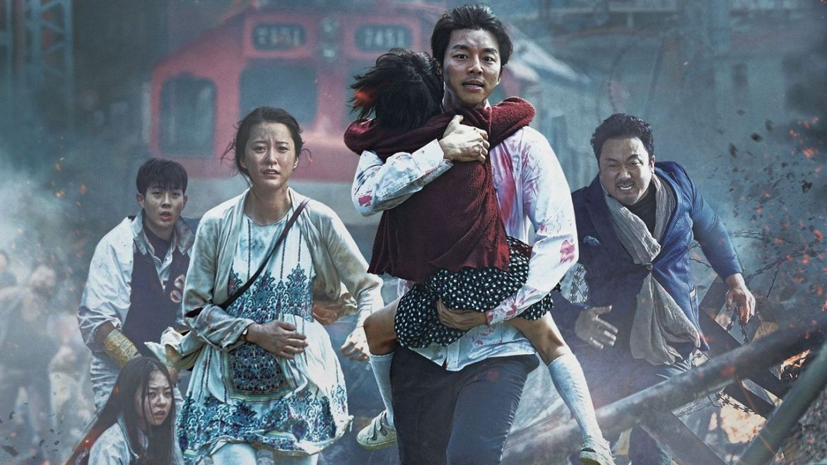 Scene from Yeon Sang-ho's movie, Train to Busan, 2016