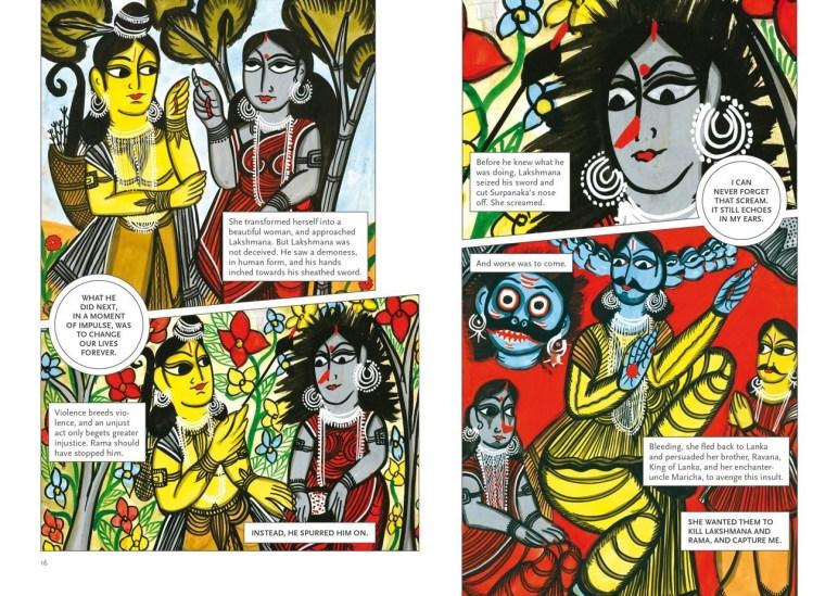 Lakshmana et Surpanaka.jpg