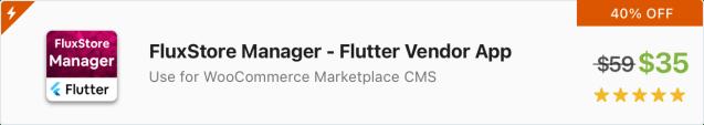 Fluxstore Multi Vendor - Flutter E-commerce Full App - 1