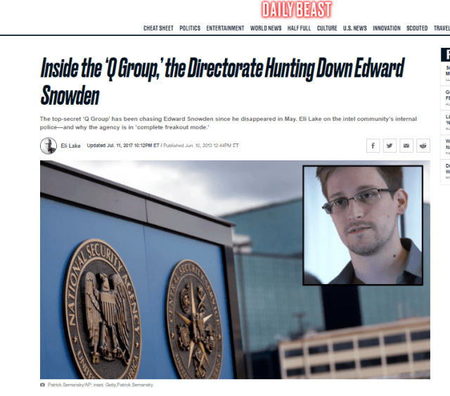 Snowden Q Group