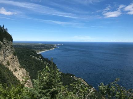 Gaspé et le Parc national Forillon.png