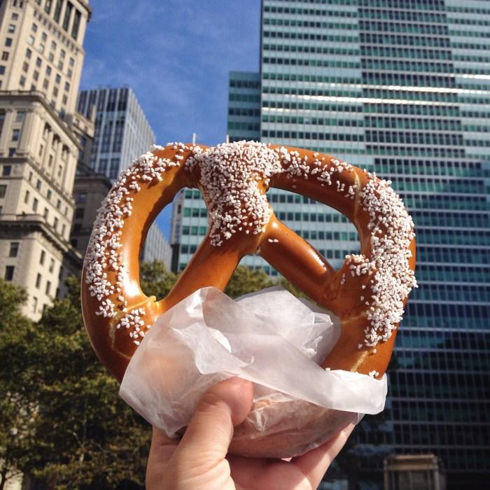 NYC pretzel