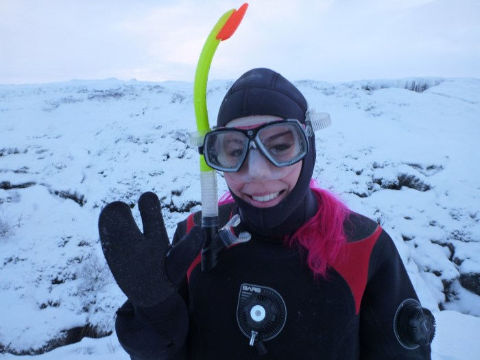 Me Getting Ready to Snorkel in Silfra