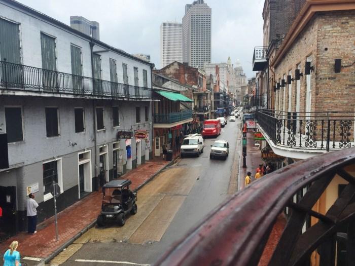 Bourbon Street after the rain