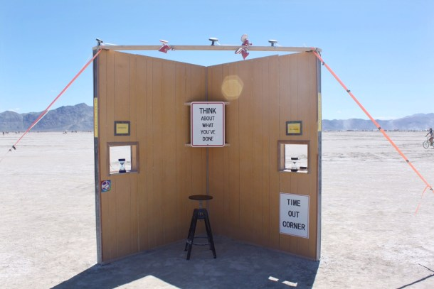 Time out at Burning Man
