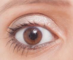 目の日焼け