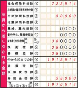確定申告書A第一表_ふるさと納税03