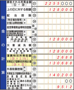 確定申告書A第一表_ふるさと納税04