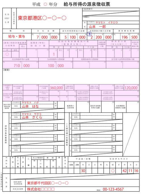 源泉徴収票H30年度02