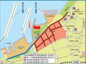 柏崎まつり駐車場位置図
