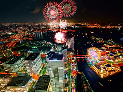 横浜トワイライト花火
