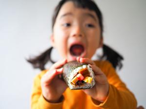 恵方巻の食べ方