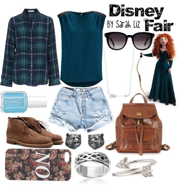 Disney Fair: Merida - Polyvore on We Heart It