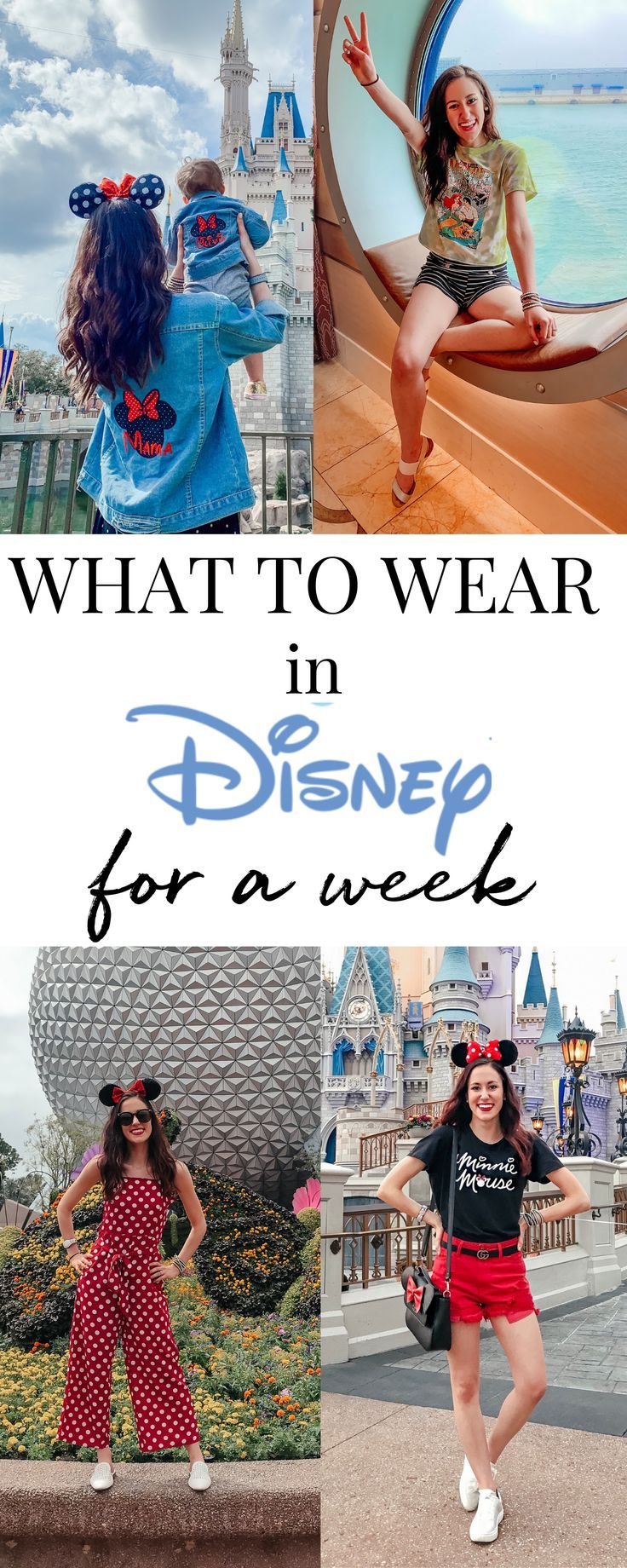 MY DISNEY OUTFITS - What to Wear to Disney for a Week!