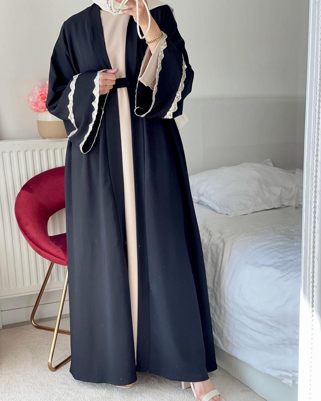 modern islamic dresses jilbabs online lulu lace abaya women