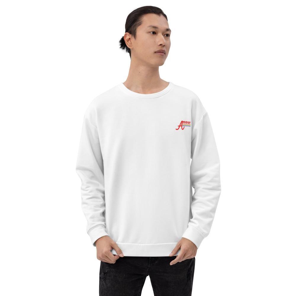 Unisex Sweatshirt Amour LGBTQIA+ - XS